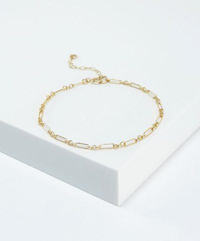 longandshort-chain-bracelet